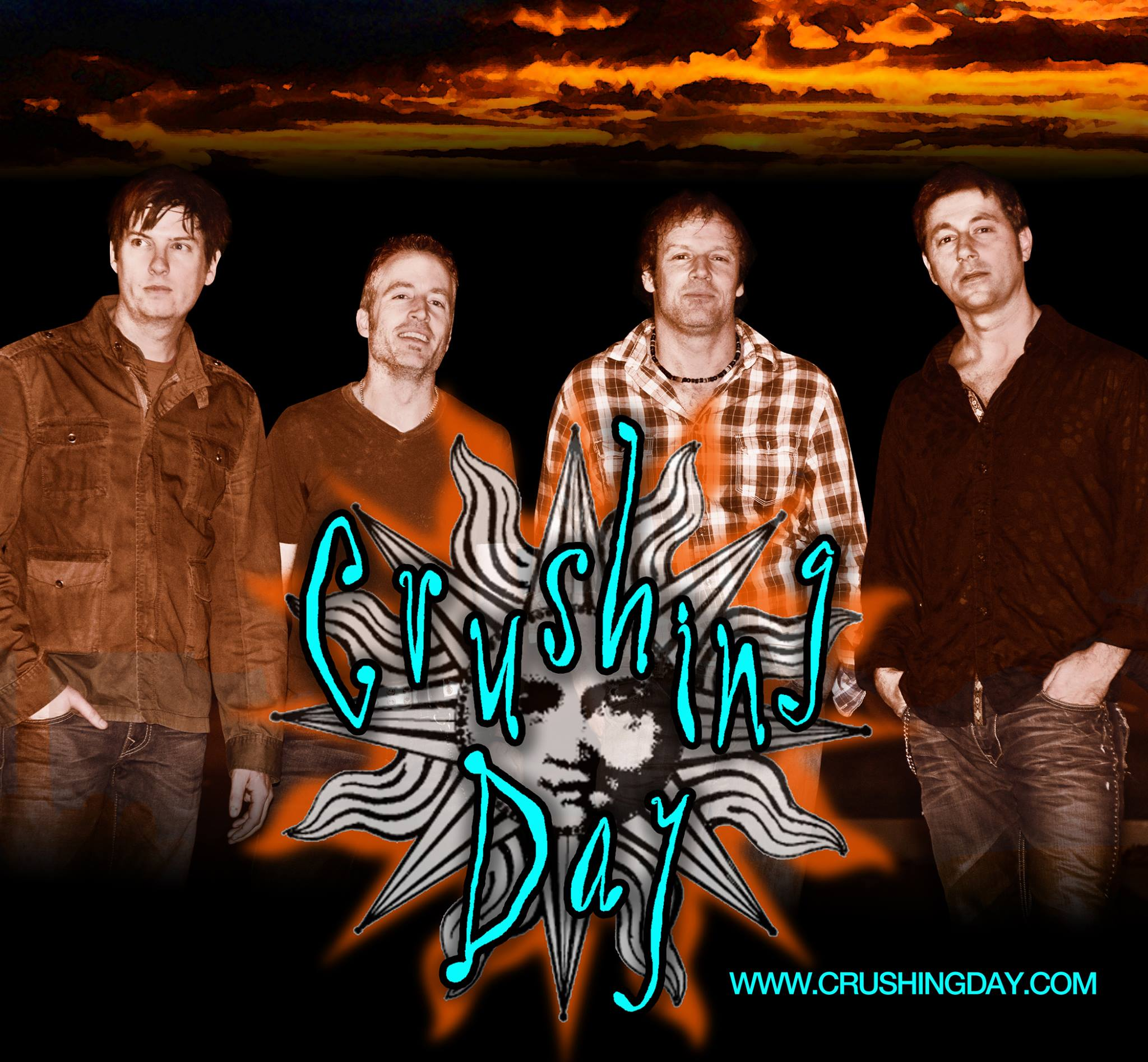 Crushing Day plays at Charm City Countdown NYE Gala