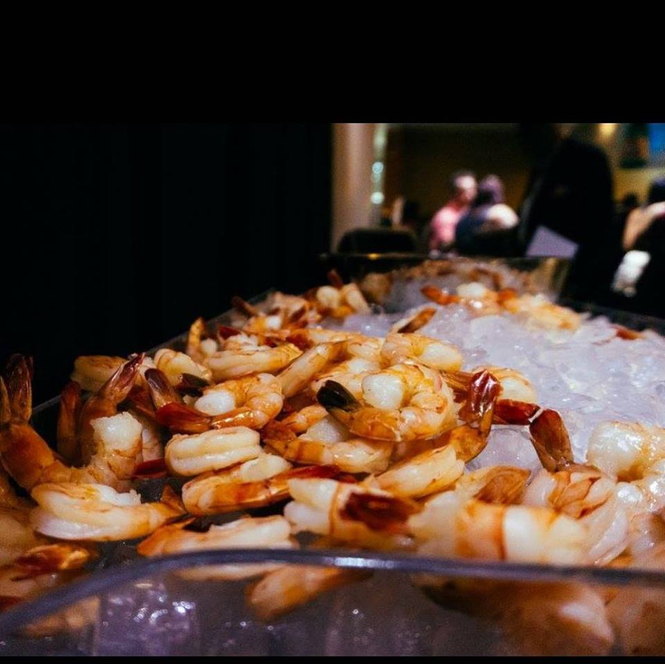 Shrimp buffet